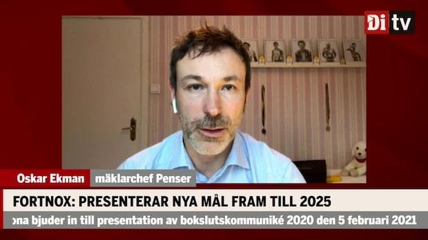 """Fortnox presenterar nya mål: """"Bra nyheter"""""""