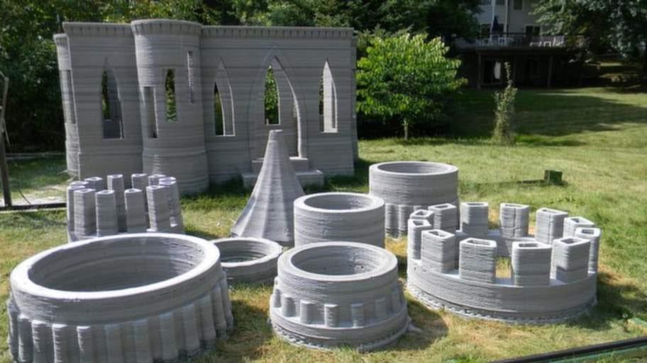 Till bygget printade Andrej Rudenko ut allt i flera olika delar. Nästa gång vill han skriva ut ett helt slott i ett och samma stycke.