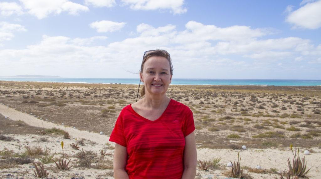 Elisabet Axås har rest till Kap Verde för fjärde gången. Varje gång har turisterna och hotellen blivit fler, men fortfarande ligger kilometervis av sanddyner orörda.