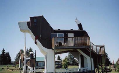 Älskar du hundar och vill ha en annorlunda semester, är Dog Bark Inn i USA ett bra alternativ.