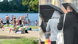 Efter hettan – SMHI varnar för stora regnmängder