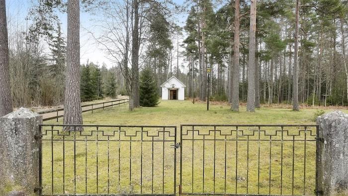 Målerås kapell i Nybro är bara 21 kvadratmeter stort.