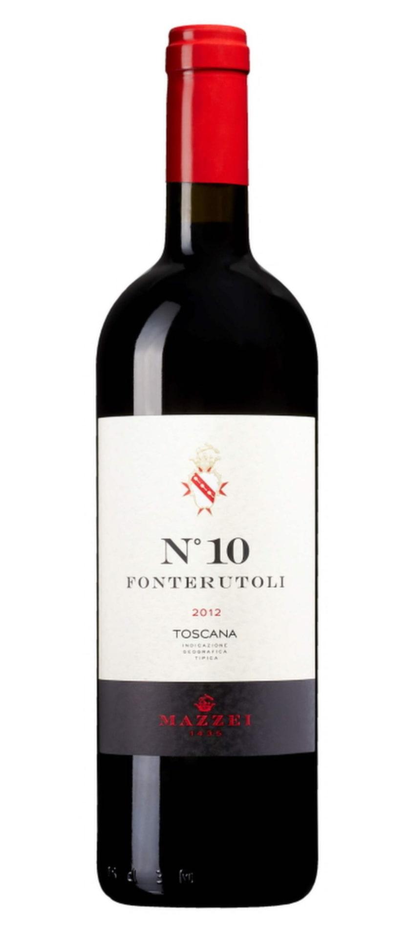 RöttFonterutoli No10 2012(71062) Toscana, 121 krKoncentrerat och charmigt med toner av blåbär, korinter och fint kryddiga toner. Passar till pizza med bresaola, purjolök och pinjenötter.