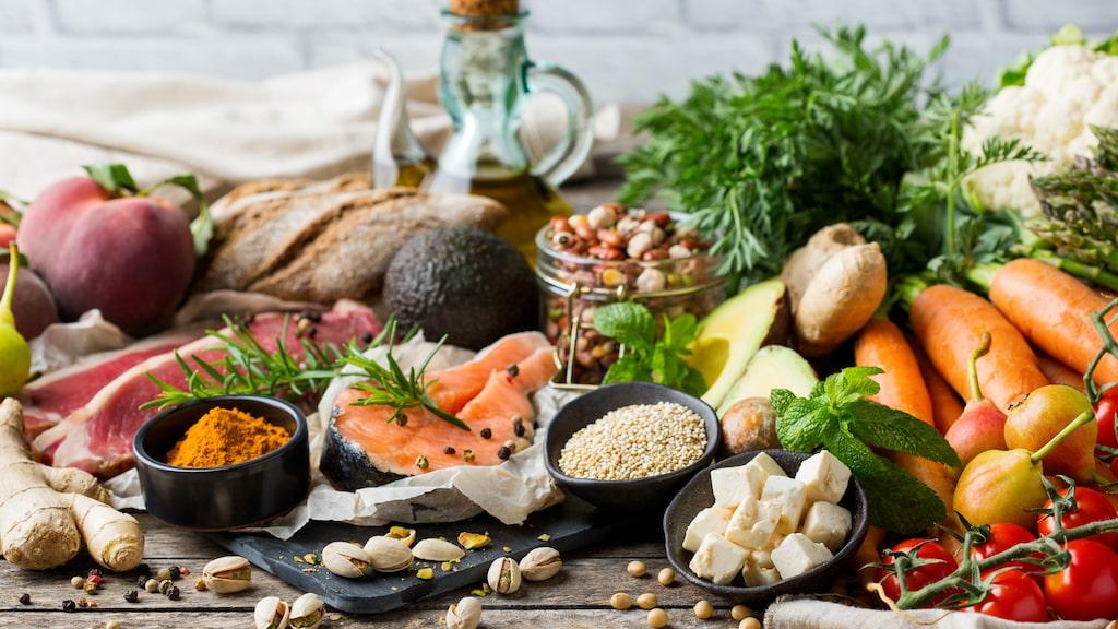Medelhavskost har många hälsosamma fördelar.