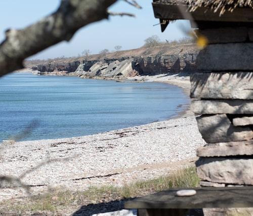 Naturreservatet Horns Kungsgård är värt både ett och två besök i sommar. Missa inte den magiska stranden nedanför klinten.
