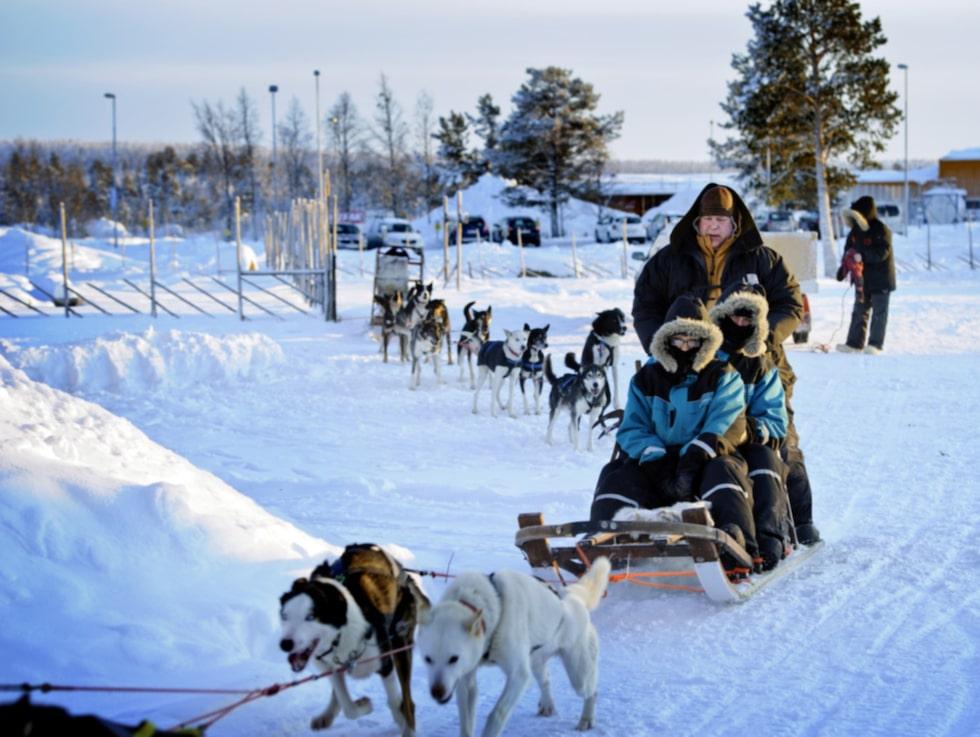 Där är väl så här eller på skoter man tar sig fram i Norrland?
