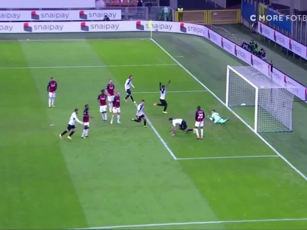 Här tar Atalanta ledningen mot Milan