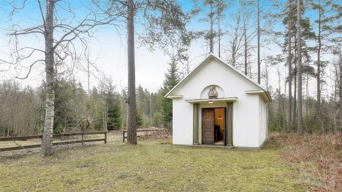Kapellet är till salu för 95 000 kronor.