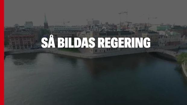 Så bildas regering i Sverige