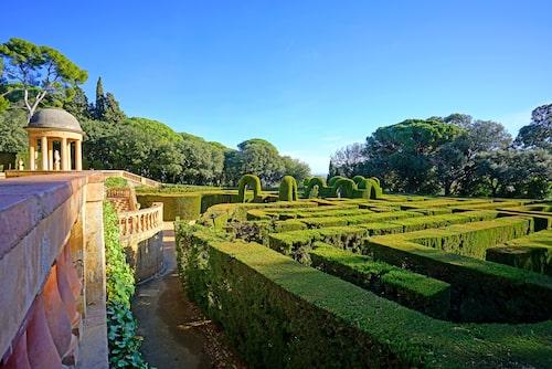 I Parc del Laberint d Horta är det lätt att gå vilse.