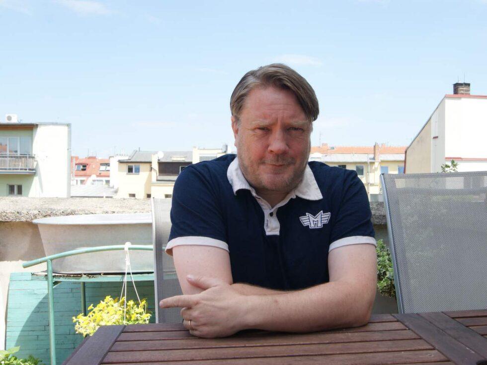 """Carl Rüster är tolk, översättare och frilansjournalist. 2014 gav han ut boken """"Mitt Prag""""."""
