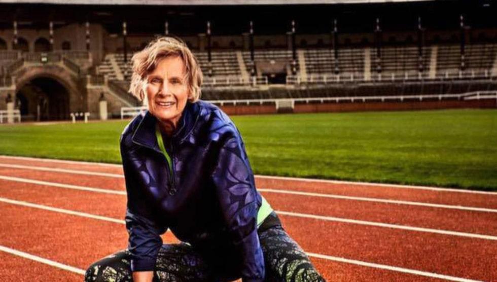 Barbro Bobäck kan kalla sig världens snabbaste 70-åring.