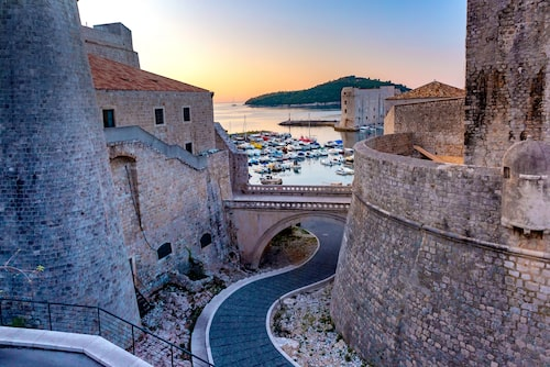 Ringmuren i Dubrovnik.