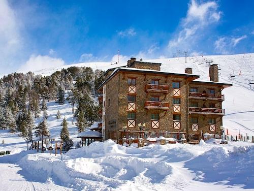 Grau Roig Andorra Boutique Hotel & Spa, vid foten av Grandvalira skidområde.
