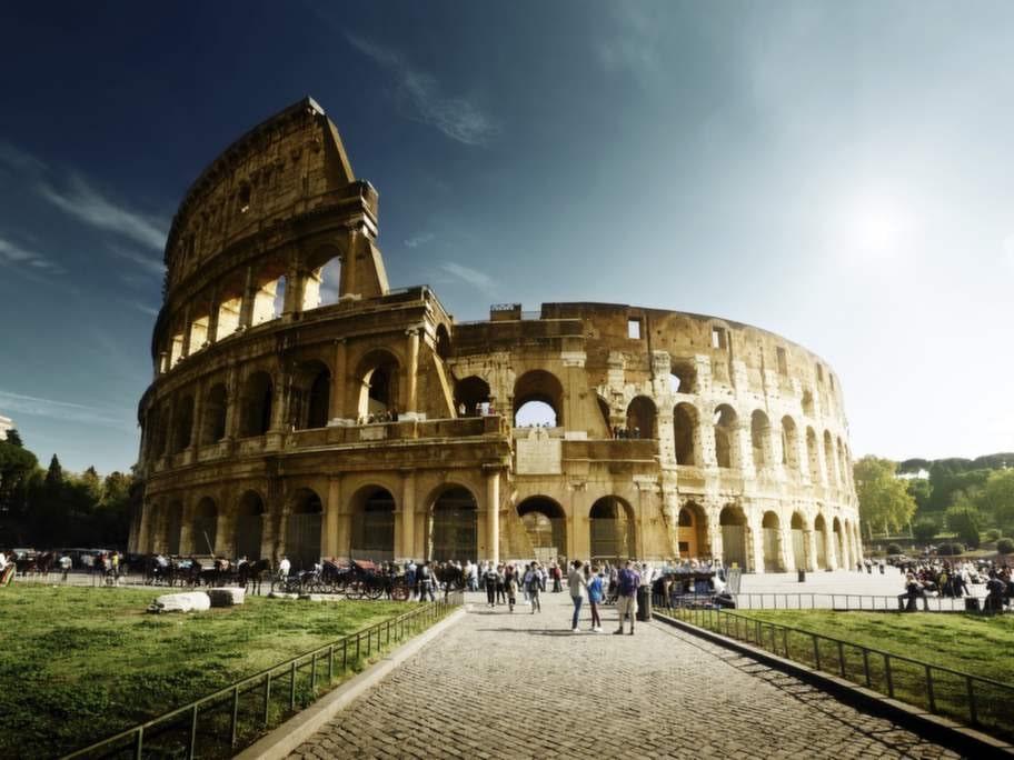 Rom är prisvärt i juli, liksom...