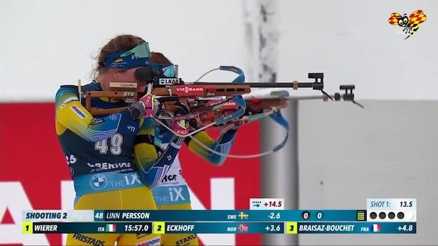 Kaosscener för Persson på vallen - Öberg bästa svenska