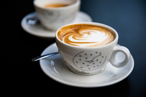 Ta en kopp kaffe på stående fot.