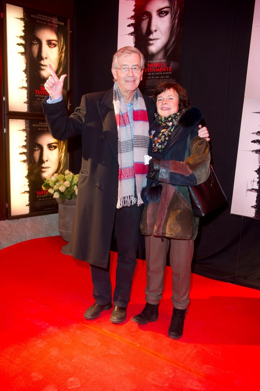Peter Althin tillsammans med frun Birgit.