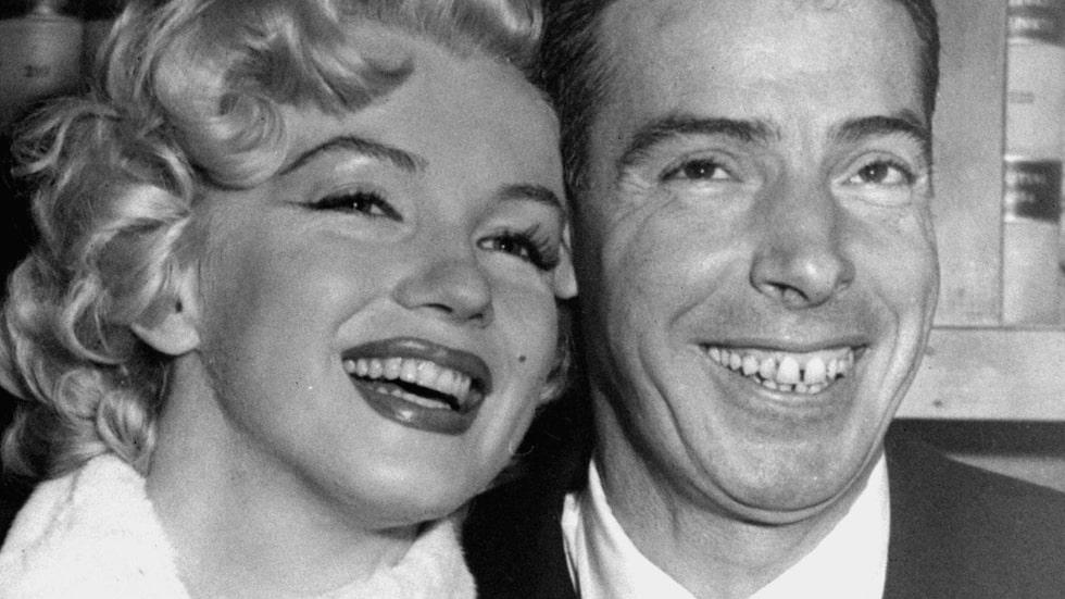 Den ikoniska filmstjärnan var då gift med baseboll-legenden Joe DiMaggio.