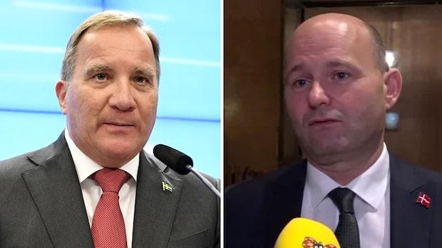 Danska politikern skrattar åt Löfvens svängning om migrationen