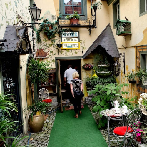 Sommerhausen har en medeltida atmosfär