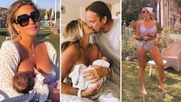 Gynnings nya familjeliv – hyllas för privata bilden