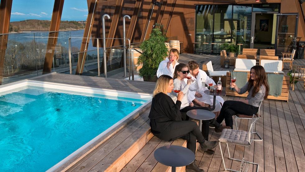 The Winery Hotel i Solna kommer på tredje plats.