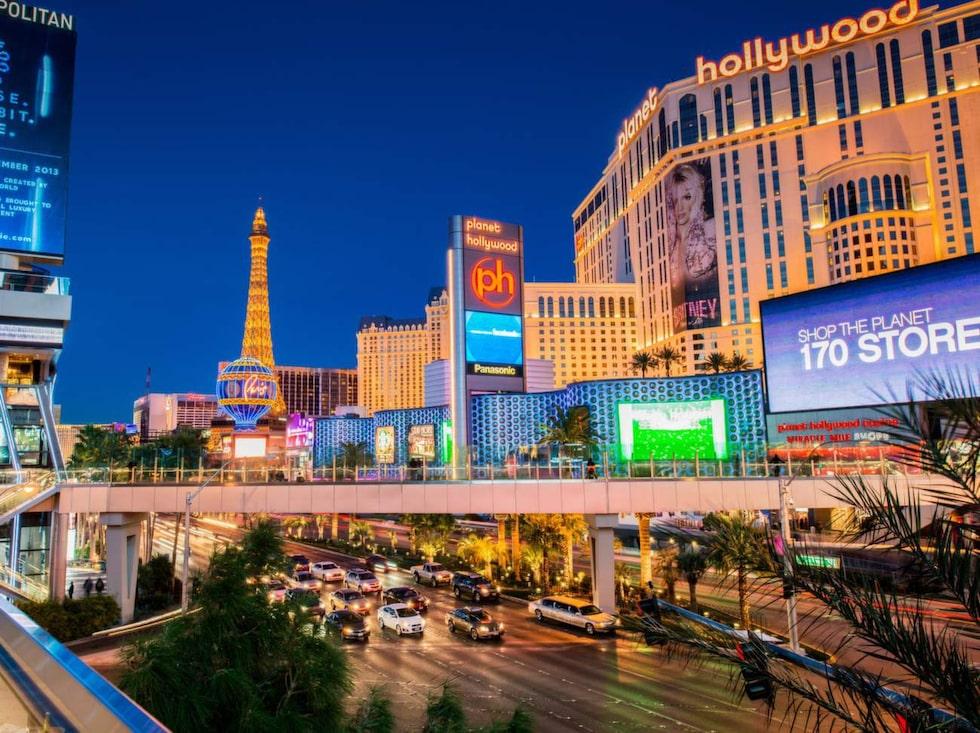 """""""Sin City"""" - Las Vegas."""