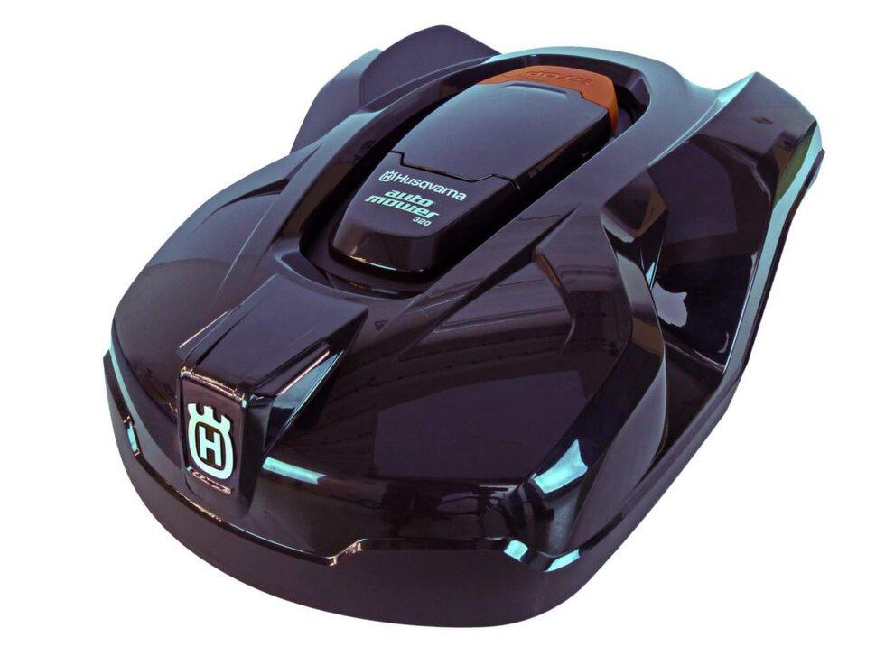 Här är robotgräsklipparen som blev bäst i vårt test. Det är en Automover 320 från Husqvarna som kostar 22 900 kroor.