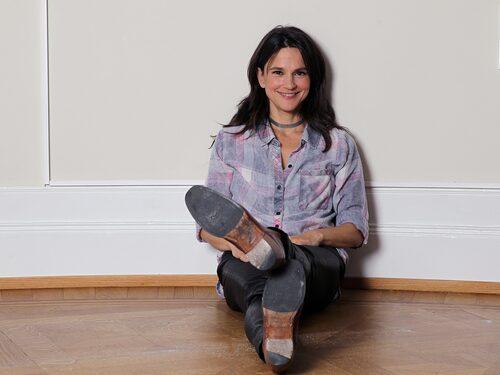 """""""Jag tror att jag verkar mycket mer balanserad, lugn och samlad på jobbet än jag är hemma"""", säger Melinda."""