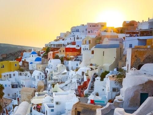 Greklands vackraste ö – Santorini.