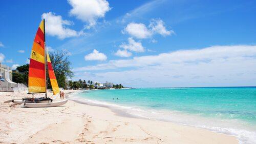 Barbados är surfarnas Mecka.