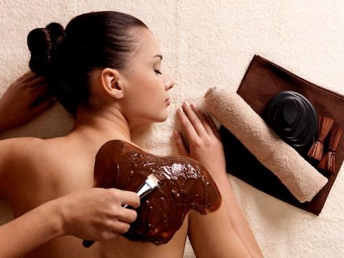 Chokladinpackning är standard på Rosas & Xocolate Boutique Hotel & Spa.