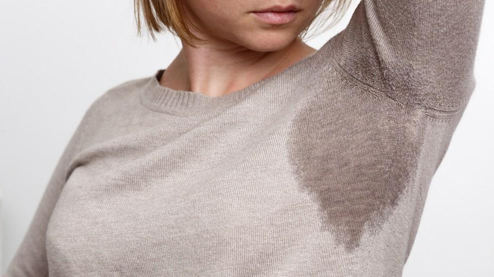 Att svettas mer än vanligt kan också vara ett tecken.