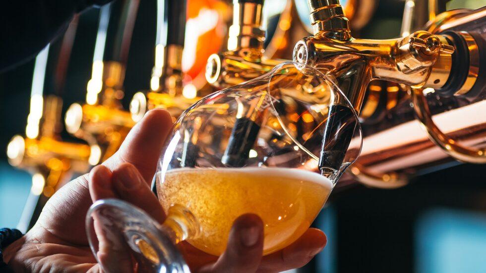183 liter per person dricker tjeckerna varje år.