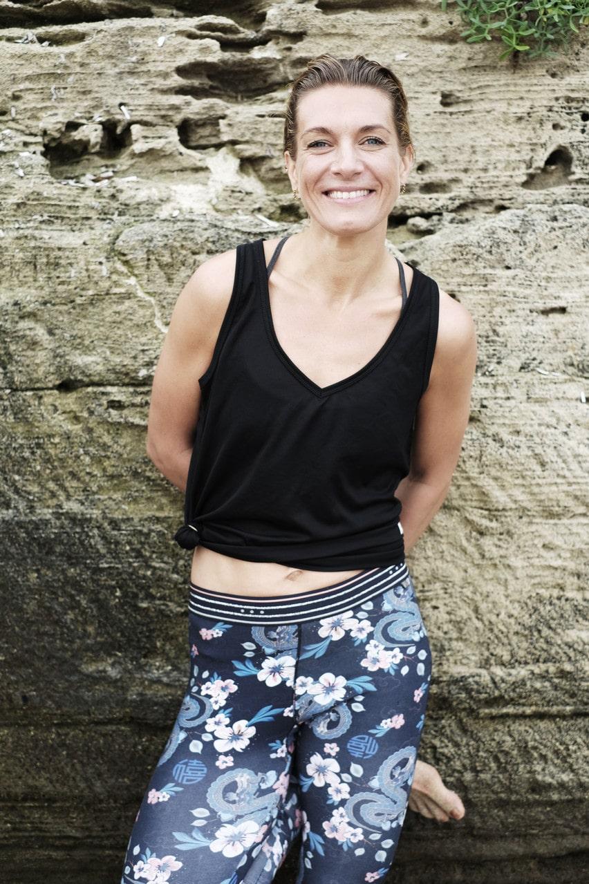 Erika Kits Gölevik, träningsexpert och yogalärare.