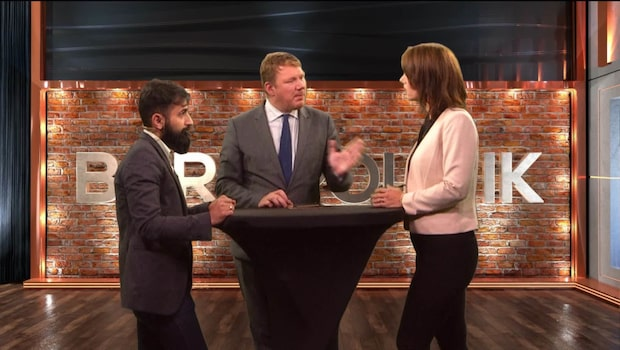 Bara politik 13 september: Se debatten mellan Hanif Bali (M) och Veronica Palm (S)