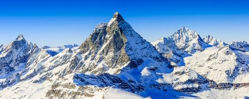 Albinen ligger i samma region som skidorten Zermatt.