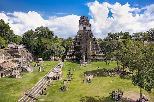 Tikals storhetstid inföll mellan år 200 och 850 efter Kristus.