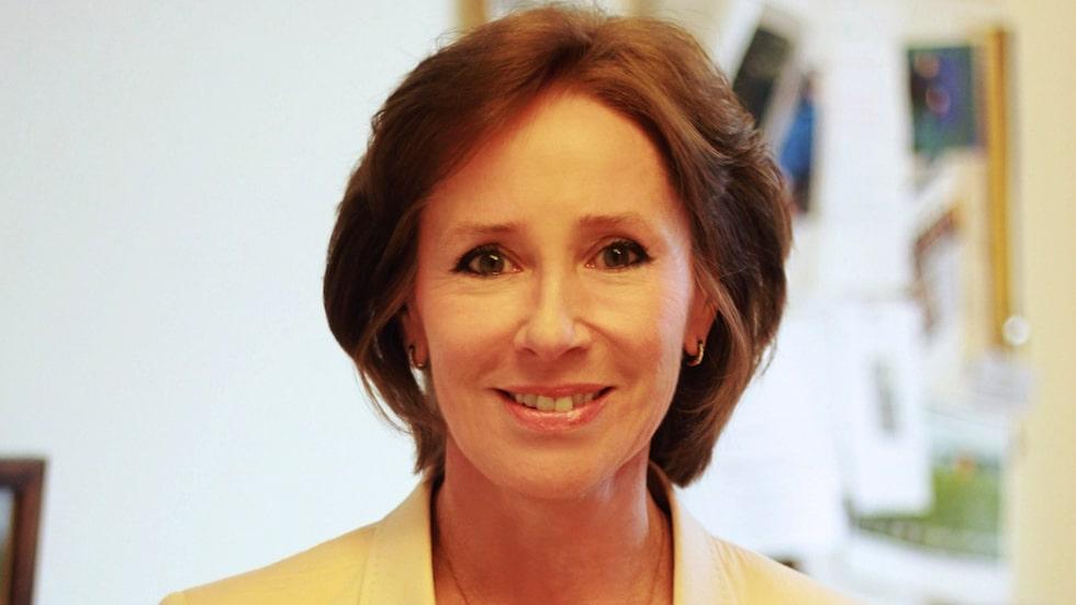 Överläkaren Angelica Lindén Hirschberg