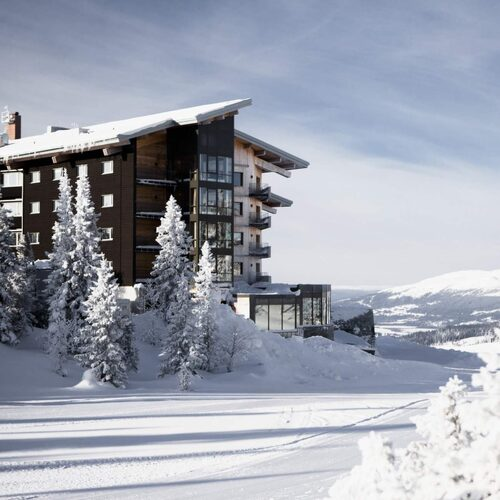femstjärnig lyx på Copperhill Mountain Lodge i Åre.