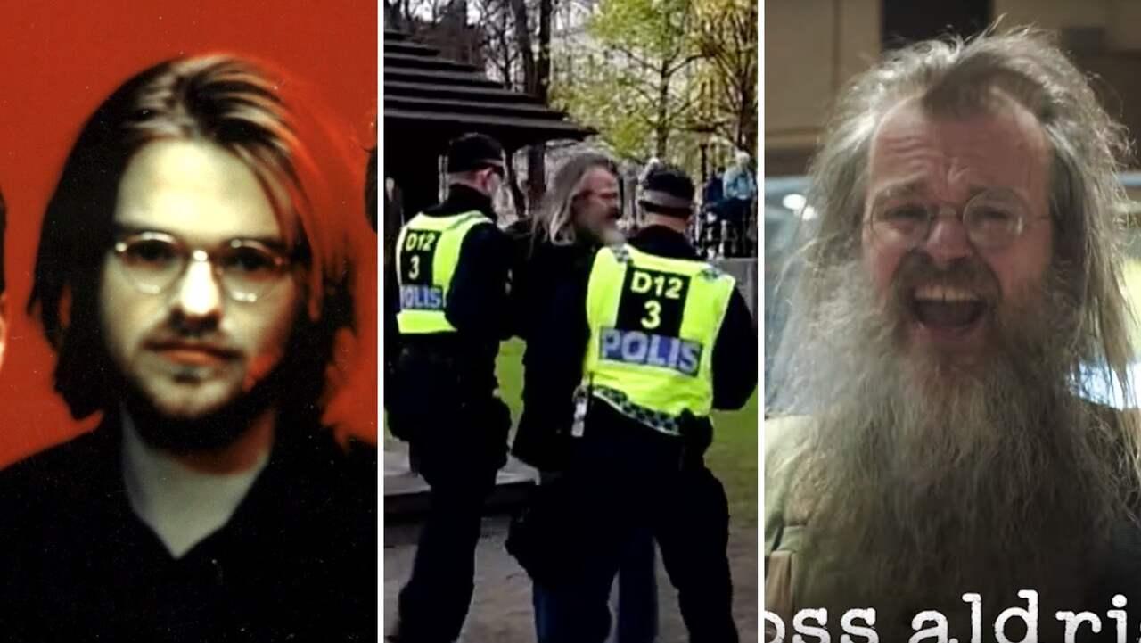 Sydsvensk artist bortförd av polis under protesten