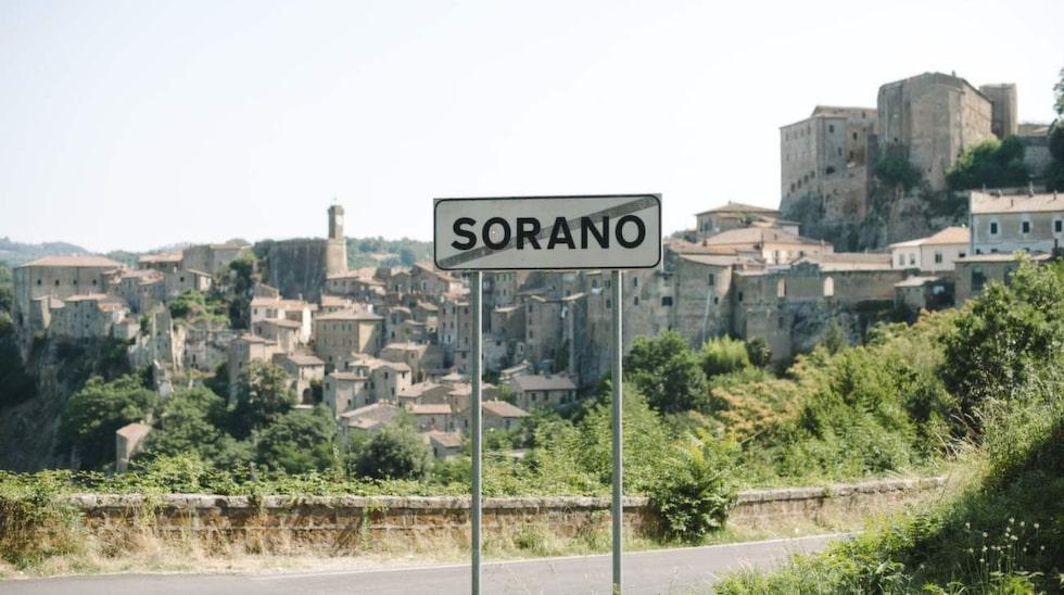 Sorano erbjuder fantastisk utsikt.