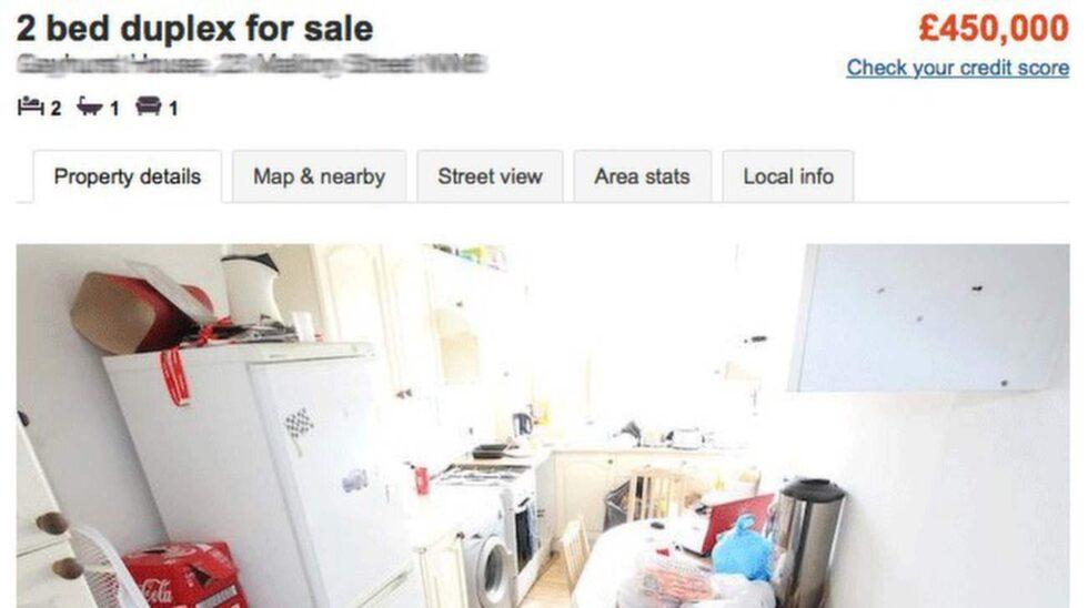 Här är den. Lägenheten mitt i centrala London. Två rum och kök för nästan 6,2 miljoner kronor.