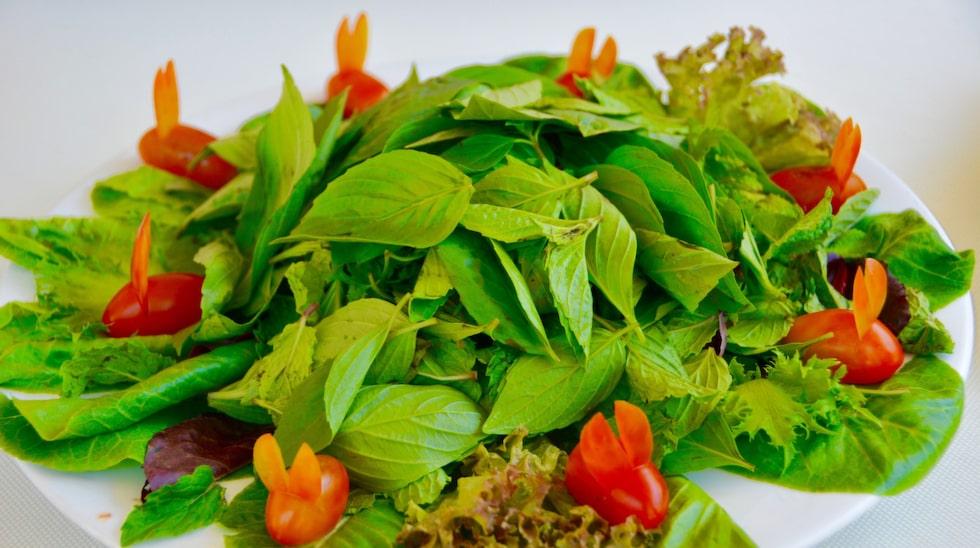 På La veranda kan man lära sig att laga vietnamesisk mat tillsammans med en frans kock.