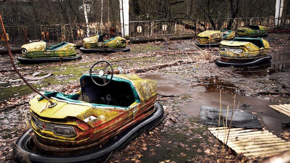 Pripjat i Ukraina övergavs vid Tjernobyl-katastrofen 1986, och har stått orörd sedan dess.