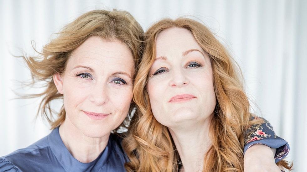 Anna Stadling gör två exklusiva julkonserter tillsammans med sin barndomsvän Helen Sjöholm i vinter.