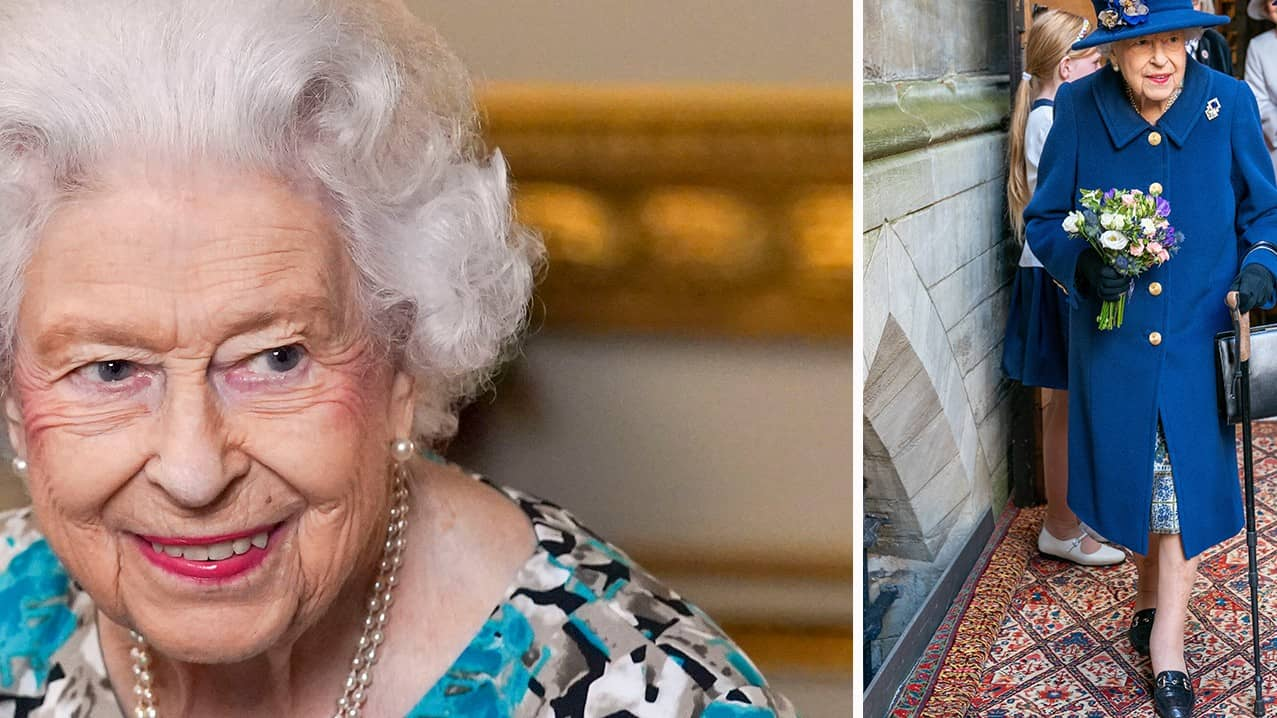 Oro för drottningens hälsa efter den ovanliga bilden