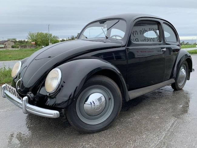Volkswagen Typ 1 Export från 1948 som kom till Sverige och Gotland året därpå.