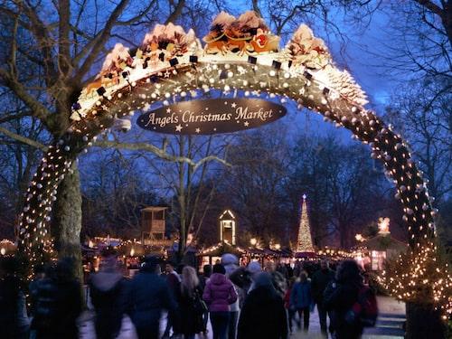 Maxad julstämning i Hyde Park med shower, och event för alla åldrar.
